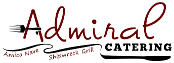 admiral catering logo