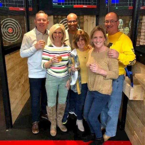 Axe Throwing group in Bryan TX